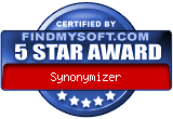 award-synonymizer